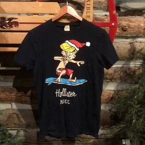 HOLLISTER NAUGHTY OR NICE T